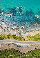 Pocket Planner 2020-2021: OCEAN & COASTAL! 2 Year Monthly Pocket Planner with U.S Holidays | Includes Password Log, Phone Book, Notes Organizer | Jan 2020 - Dec 2021 | Extra Spacious Interior for Easy Writing