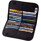 IN Card Case Compact Wallet Slim Super Thin Large Multi Long Credit Card ID Bifold Organizer Card Holder