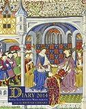 British Library Desk Diary 2014: Royal Illuminated Manuscripts 画像