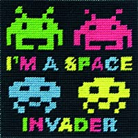 DMCタペストリーキット–Space Invader–ck040