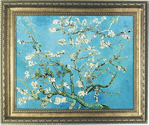ゴッホ 花咲くアーモンドの枝 複製画 大サイズ (外径620...