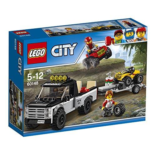 レゴ (LEGO) シティ 四輪バギーとトレーラー 60148