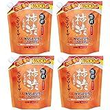 【まとめ買い】薬用柿渋 ボディソープ 大容量 (つめかえ用) 1200mL 【医薬部外品】×4個