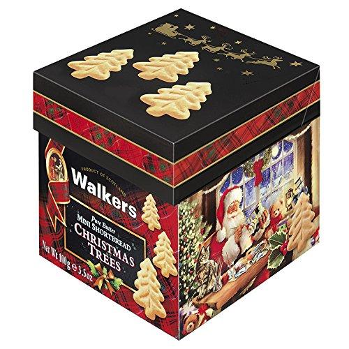 Walkers ミニクリスマスツリーショートブレッドBOX #1547 Walkers(ウォーカー)
