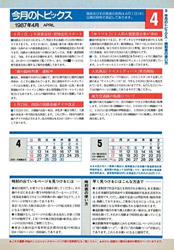 時刻表復刻版 1987年4月号 (JTB時刻表2017年5月号臨時増刊)