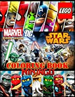 Lego 3 in 1: Coloring Book: Super Heroes (Dc&marvel), Star Wars, Ninjago, Activity Book for Kids and Adults