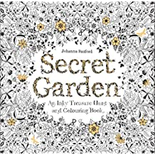 Secret Garden: An Inky Treasure Hunt and Colouring Book