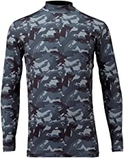 フリーノット(FREE KNOT) 冷感 ヒョウオン レイヤードアンダーシャツ 3L グレーカモ. Y1625-3L-91