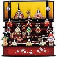 人形工房天祥 雛人形 真多呂作 木目込み人形 五段飾り 古今段飾り 芙蓉雛15人揃セット