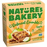 Nature's Bakery Oatmeal Crumble Bars, Apple, 40g (Pack of 6)