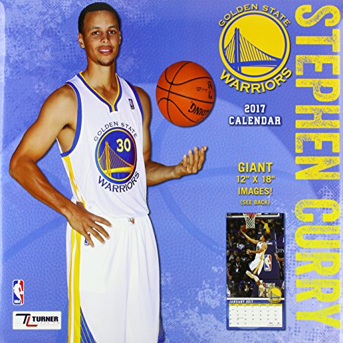 Golden State Warriors Steph Curry 2017 Calendar
