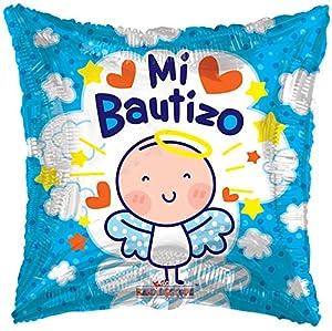 カレイドスコープMi Bautizo Angelito洗礼箔マイラーバルーン、5ピース