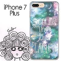 iPhone7 Plus スカラー ScoLar 宇宙 宇宙柄 スカラーの惑星 ハードケース クリア_511