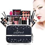 All in One Makeup Kit Makeup Kit for Women Full Kit Multipurpose Makeup Kit-Makeup Brush Set,Eyeshadow Palette,Lip Gloss Set,
