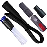 Flexible Crevice Tool Universal Vacuum Cleaner Brush Attachment 35mm to 32mm Hose Adapter Cleaning Kit Fit Most Vacuum Cleane