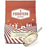 Foodsterr Whole Meal Wheat Flour, Bright, 500g