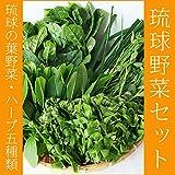沖縄県産 琉球の野菜・ハーブ・薬草5種盛りセット