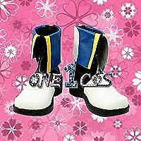 【サイズ選択可】コスプレ靴 ブーツ 12L1561 VOCALOID カイト KAITO 男性26.5CM