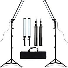 GSKAIWEN LED Light Photography Studio LED Lighting Kit Adjustable Light with Light Stand Tripod Bag Photographic Video Fill L