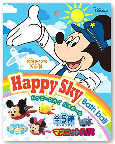 ディズニー 入浴剤 ハッピースカイバスボール おまけ付き グレープフルーツの香り DIP-88-01