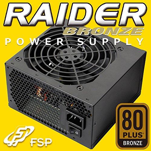 オウルテック 80PLUS BRONZE取得 ATX電源ユニット RAIDERシリーズ 500W RA-500B B01A9PMFIA 1枚目
