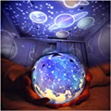 TOURACE Star Night Light for Kids, Universe Projection Romantic Projection Lamp Starry Constellation Birthday Christmas Proje
