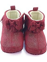ルテンズ(Lutents )乳児靴 温かい 女の子 男の子 滑り止め 子供 靴 花柄 シンプル0-2歳 誕生日 プレゼント ベビーシューズ 耐磨 おしゃれ カッコイ 履きやすい キッズ ブーツ
