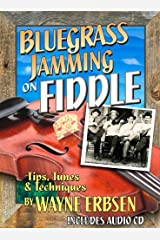 Bluegrass Jamming on Fiddle (Book & CD set) Paperback