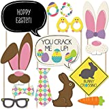 Hippity Hoppity - Easter Photo Booth Props Kit - 20 Count
