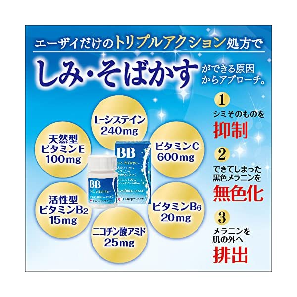 【第3類医薬品】チョコラBBルーセントC 180錠の紹介画像3