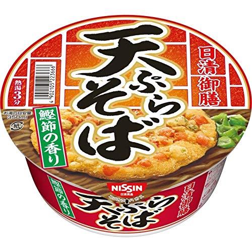 日清御膳 天ぷらそば 86g×12個