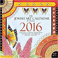 The Jewish Art Calendar by Mickie 2016 [並行輸入品]