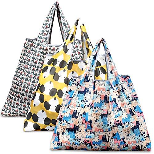 買い物袋 Lサイズ 3 Pcs三図案