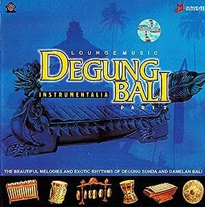 癒しのバリミュージックCD 『DEGUNG BALI』PART2 バリ雑貨 癒し系CD ヒーリングミュージック