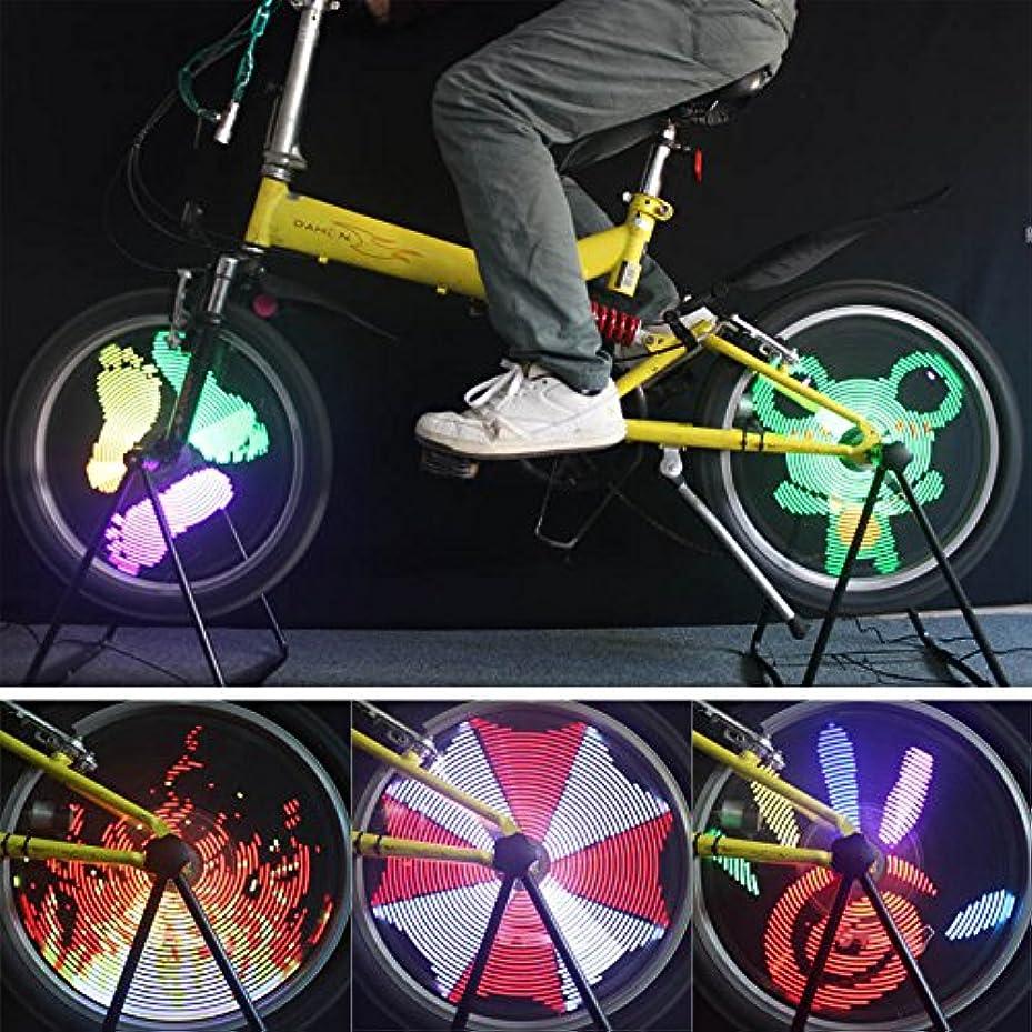 可動式落ち着くプレーヤー96 RGB LED 自転車 バイク サイクリング ホイールライト LED ライト 自転車 スポーク ライト バイク ランプ