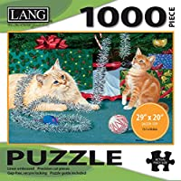 Lang Kitten Christmas Puzzle (1000 Piece)