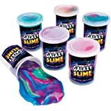 Neliblu Galaxy Unicorn Slime -12 Pack Assorted Silly Putty Party Favors - Christmas Stocking Stuffers - Goody Bag Fillers - B