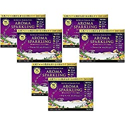 【セット品】バスクリンアロマスパークリング アロマバスコレクション 12包6個セット