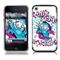 Music Skins iPhone 3G/3GS用フィルム Four Year Strong - Shuttershades iPhone 3G/3GS MSRKIP3G0086