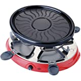 Portable Household Electric Raclette Grill Smokeless Griddle Non-Stick BBQ Pan Bakeware Skewer Outdoor Barbecue Machine