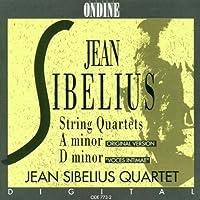 シベリウス:弦楽四重奏曲 イ短調/ニ短調