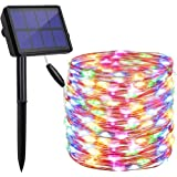 findyouled Solar String Lights Outdoor, 20m 200 LED Solar Powered String Fairy Tree Light with 8 Lighting Modes,Waterproof fo