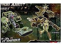 Iron Army Two-Pack B - T-34 vs J7 Shinden (製造元:TFC Toys) [並行輸入品]