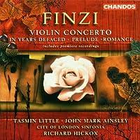 Finzi- In Years Defaced/Violin Concerto (2001-02-27)