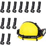 Helmet Light Clips for Headlamp, Headlamp Hook, Hard Hat Light Clip, Hardhat Headlamp Accessory, Easily Mount Headlamp on Nar