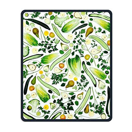 マウスパッド 果物緑色のスムージー 光学式マウス対応 おしゃれ 滑り止め 防水 耐洗い表面 オフィス...