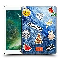 オフィシャル Emoji デニムパッチ トレンド ハードバックケース iPad Pro 12.9 (2017)