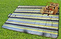 Sorbusテつョ Portable Handy Mat with Handle for Beach, Picnic, Camping, or Any Outdoor Activities Extra Large Measures 60x78 by Sorbus