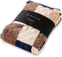 mofua 优质超细纤维 Heatwarm发热+2°C 型 毯子 垫子