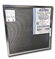 14x24x1 Electrostatic AC Furnace Air Filter Silver 94% Arrestance. Lifetime Warranty. Never Buy a New Filter